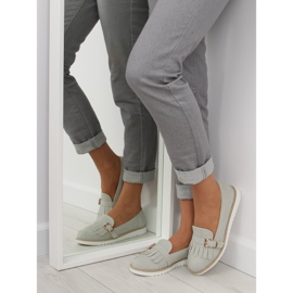 Moccasins for women gray 7210 Gray grey 2