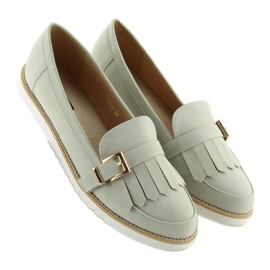 Moccasins for women gray 7210 Gray grey 4