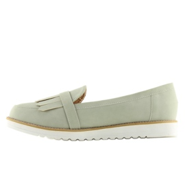 Moccasins for women gray 7210 Gray grey 1