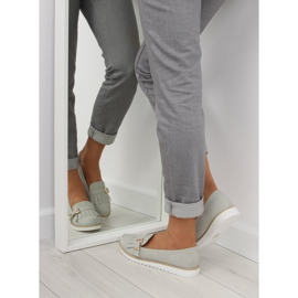 Moccasins for women gray 7210 Gray grey 3