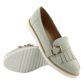 Moccasins for women gray 7210 Gray grey 5