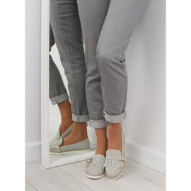 Moccasins for women gray 7210 Gray grey 6