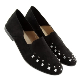 Loafers lordsy with studs black 1415 Black 4