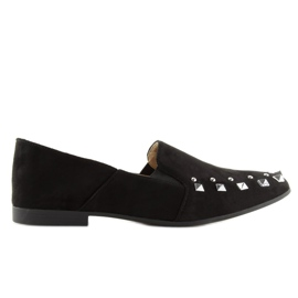 Loafers lordsy with studs black 1415 Black 1