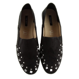 Loafers lordsy with studs black 1415 Black 2