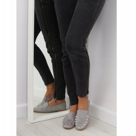 Loafers lordsy with gray 1415 Gray studs grey 2