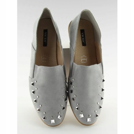 Loafers lordsy with gray 1415 Gray studs grey 1