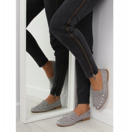 Loafers lordsy with gray 1415 Gray studs grey 5