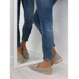 Women's loafers gray 1174 Gray grey 4