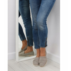 Women's loafers gray 1174 Gray grey 3