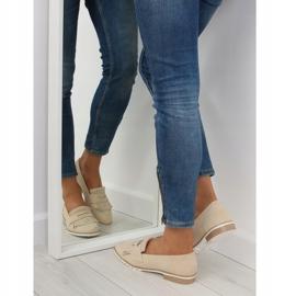 Loafers for women beige 1174 Beige 2