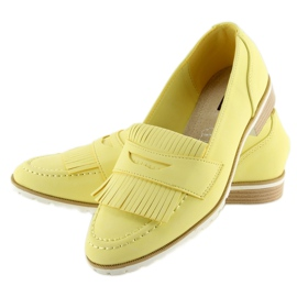 Loafers yellow 1174 Yellow 2