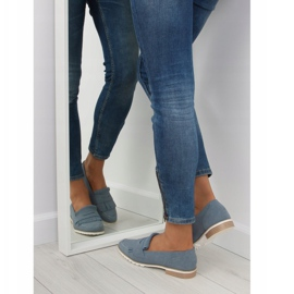 Loafers for women blue 1174 Navy 4