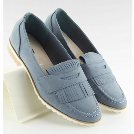 Loafers for women blue 1174 Navy 1