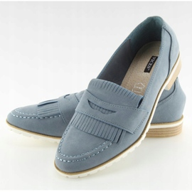Loafers for women blue 1174 Navy 2