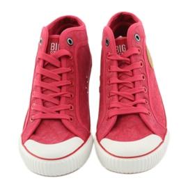 Big Star Men's sneakers Red Star 174017 4