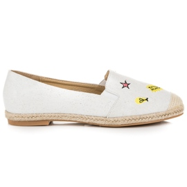 Seastar Espadrilles with patches white 1