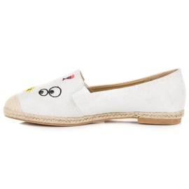 Seastar Espadrilles with patches white 3