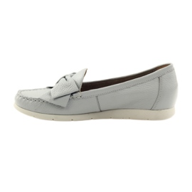 Caprice moccasin women's shoes grey 2