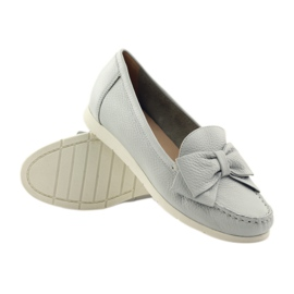 Caprice moccasin women's shoes grey 3