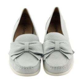 Caprice moccasin women's shoes grey 4