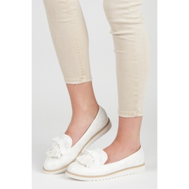 Vices Suede lords with fringes white 2