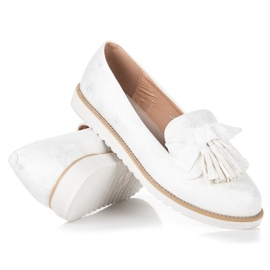 Vices Suede lords with fringes white 4