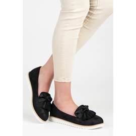 Vices Suede lords with fringes black 2