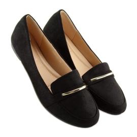 Women's loafers black 9988-121 black 3