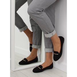 Women's loafers black 9988-121 black 4