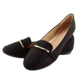 Women's loafers black 9988-121 black 1