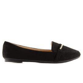 Women's loafers black 9988-121 black 2