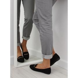 Women's loafers black 9988-121 black 5