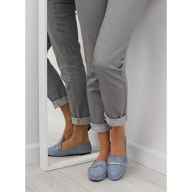 Women's loafers blue 9988-121 denim 6