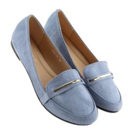 Women's loafers blue 9988-121 denim 4