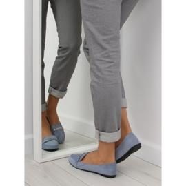 Women's loafers blue 9988-121 denim 3
