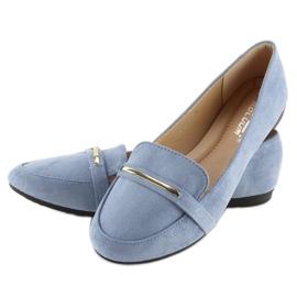 Women's loafers blue 9988-121 denim 5