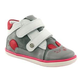 Bartek Girls' booties, rabbit, rabbit, 11702 pink red grey white 1