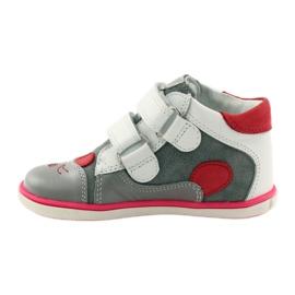 Bartek Girls' booties, rabbit, rabbit, 11702 pink red grey white 2