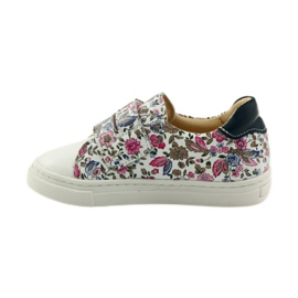 Girls' shoes for flowers Bartuś pink brown white 2