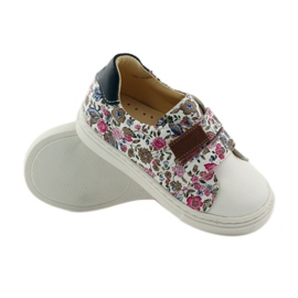 Girls' shoes for flowers Bartuś pink brown white 3
