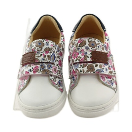 Girls' shoes for flowers Bartuś pink brown white 4