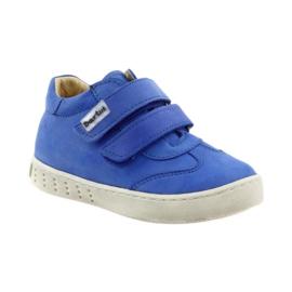 Boys' shoes for Velcro Bartuś blue 1
