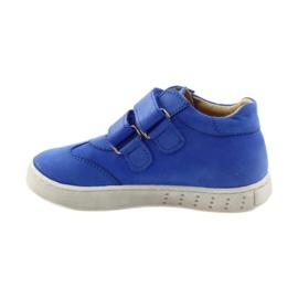 Boys' shoes for Velcro Bartuś blue 2