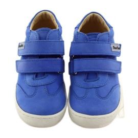 Boys' shoes for Velcro Bartuś blue 4