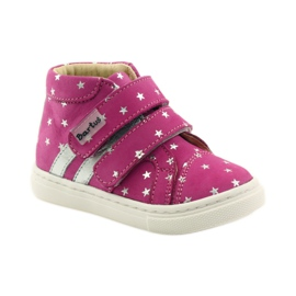 Girls' shoes in Bartuś stars pink grey 1