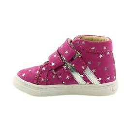 Girls' shoes in Bartuś stars pink grey 2