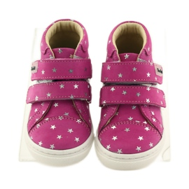 Girls' shoes in Bartuś stars pink grey 4