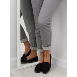 Women's loafers black 127-2 black 3
