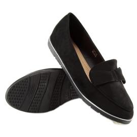 Women's loafers black 127-2 black 5